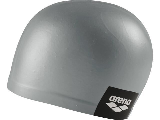f00b9f5c3b2 arena Logo Moulded Swimming Cap grey at Bikester.co.uk